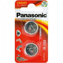 Baterie Panasonic CR2025 ( 2 ks)