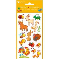 Odrazka na zadní nosič 9,5 x 4 cm (2 šrouby) - červená