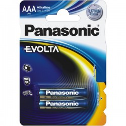 Baterie Panasonic AAA-LR03 EVOLTA (2 ks)