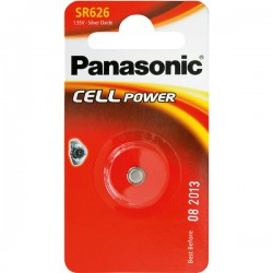 Baterie do hodinek 376/377 - Panasonic SR626SW (6,8 x 2,6 mm)