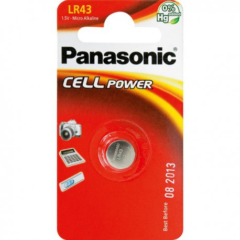 Baterie Panasonic LR43