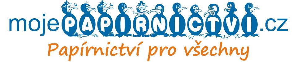 Logo mojePAPIRNICTVIcz s tučňáky 1001x751